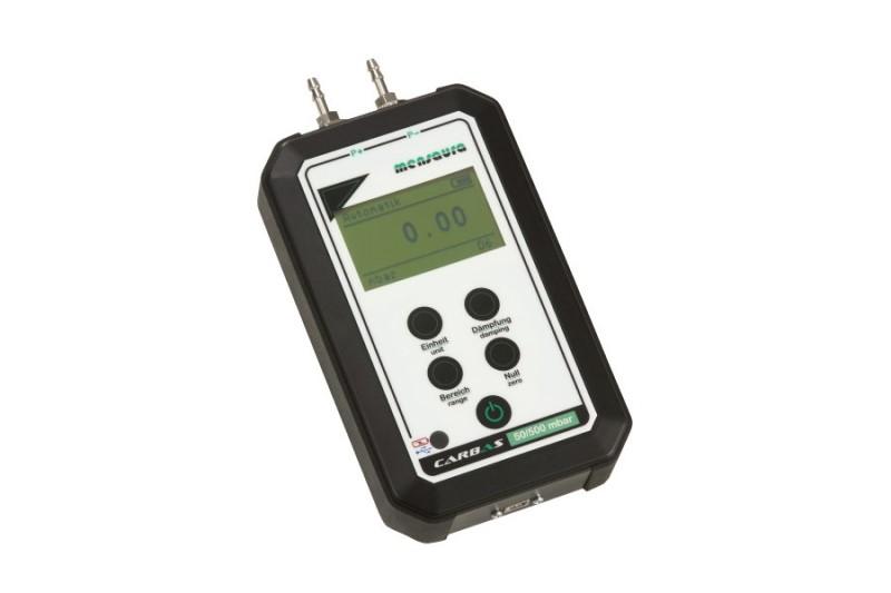 Druckmessgerät Carbas für den mobilen Einsatz